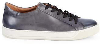 To Boot Pace Leather Lace-Up Sneakers
