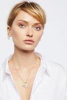 Free People Semi-Precious Stone Charm Necklace