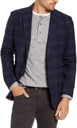 1901 Extra Trim Fit Plaid Wool Blend Sport Coat