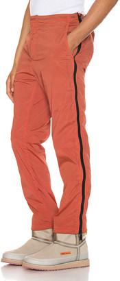Heron Preston Side Zip Pants in Washed Red | FWRD