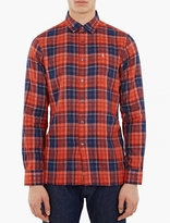 Raf Simons Red Check Long-sleeved Shirt