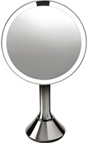 Simplehuman Sensor Activated Lighted Vanity Mirror, 5x Magnification, 8 in.