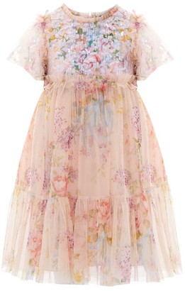 Needle & Thread Floral Diamond Sequin-Embellished Dress (4-10 Years)