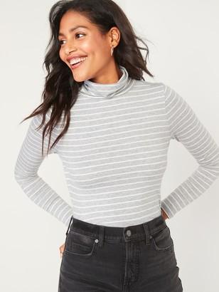Old Navy Slim-Fit Long-Sleeve Turtleneck Tee for Women