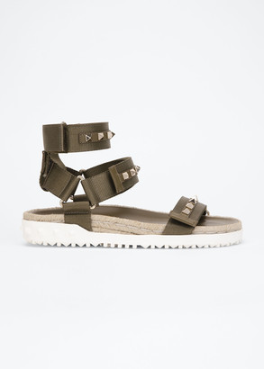 Valentino 35mm Rockstud Sport Sandals with Removable Strap