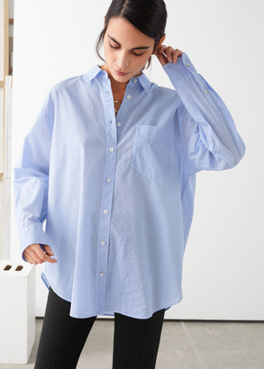 And other stories Oversized Button Up Shirt