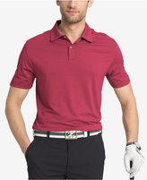 Izod Heathered Cutline Performance Stretch Golf Polo