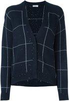 Brunello Cucinelli pinstripe style cardigan