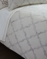 Vera Wang King Fretwork Duvet Cover