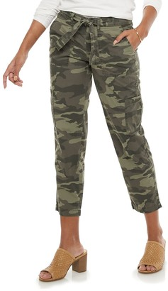 Women's SONOMA Goods for Life Belted Utility Capri