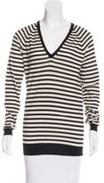By Malene Birger Striped V-Neck Sweater