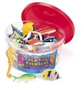 Learning Resources 60-Piece Fun Fish Counter Set