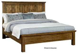 Darby Home Co Erving Panel Headboard Size: King, Color: Antique Amish