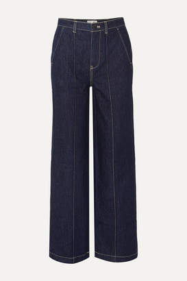 Alex Mill Jane Mid-rise Straight-leg Jeans - Dark denim