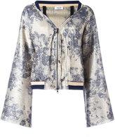 Aviu floral print jacket - women - Cotton/Polyamide/Polyester/Spandex/Elastane - 40