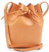 Mansur Gavriel Mini Leather Bucket Bag - Womens - Tan Multi
