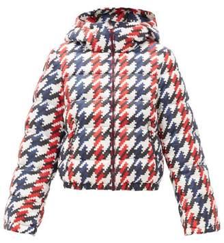 Perfect Moment Polar Flare Pixel-print Down-filled Ski Jacket - Womens - Multi
