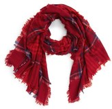 Madewell Plaid Wool Scarf
