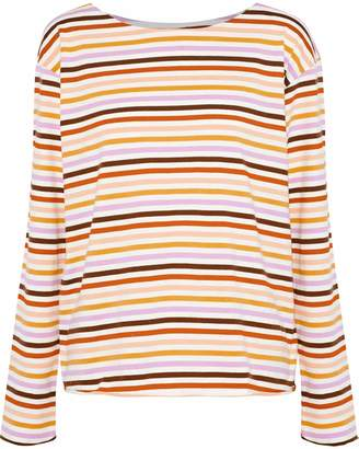 MiH Jeans Mariniere Striped Cotton-jersey Top