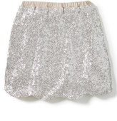 Girl's Peek Drew Sequin Skirt