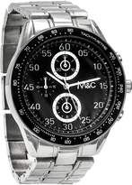 MC M&c Ferretti Men's | Stainless Steel Chronograph Dial Watch | FT14801