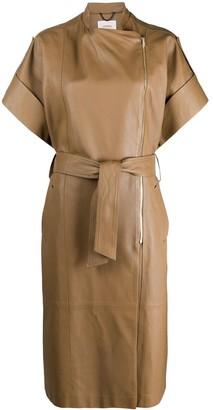 Dorothee Schumacher Tied-Waist Short-Sleeve Dress
