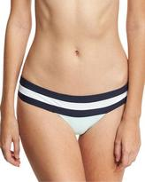 Pilyq Colorblock Banded Swim Bottom, Aquamarine