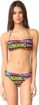 Moschino Bandeau Bikini