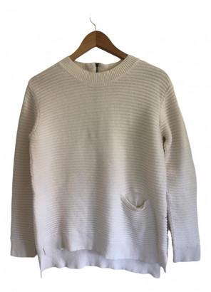 Chinti and Parker White Wool Knitwear