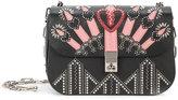 Valentino Garavani Valentino Loveblade chain crossbody bag - women - Leather/metal - One Size