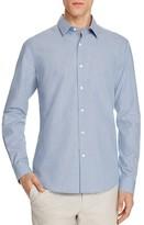 Theory Sylvain Micro Check Slim Fit Button-Down Shirt