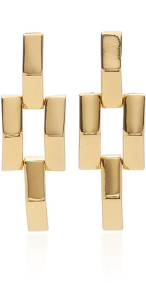 Lulu Frost Power Gold-Tone Earrings
