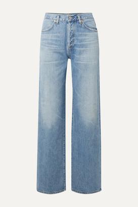 Citizens of Humanity Annina High-rise Wide-leg Jeans - Light denim