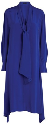 Joseph Silk Alisson Crepe Dress