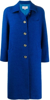 Valentino Pre Owned 2000s Single-Breasted Coat