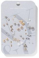 New York & Co. 20-Piece Post Earring Set