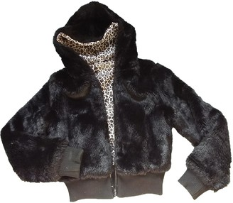 Non Signé / Unsigned Non Signe / Unsigned Black Faux fur Jacket for Women