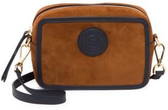 Fendi Mini Suede Camera Bag