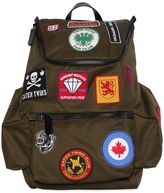 DSQUARED2 Cotton Backpack W/ Patches