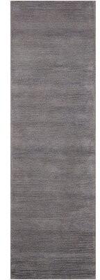 "Calvin Klein Ravine Hand-Knotted Wool Dusk Area Rug Rug Size: Runner 2'3"" x 7'6"""