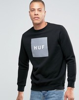 HUF Sweatshirt With Box Logo