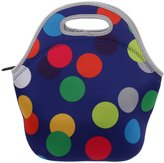 Generic Polka Dot Zip Insulated Neoprene Lunch Tote Bag Travel Outdoor Picnic Bag