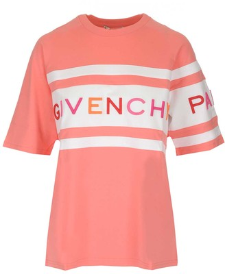 Givenchy Logo Striped T-Shirt