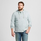 Mossimo Men's Big & Tall Hooded Long Sleeve Henley