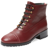 F-Troupe Sylvia Leather Lace-Up Boot