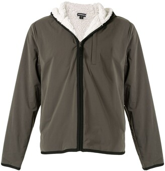 James Perse Hooded Zipped Jacket