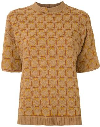 Nk Lux jacquard blouse