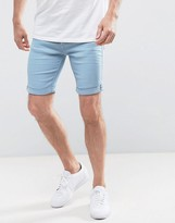 Blend of America Light Blue Denim Shorts