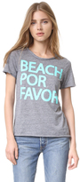 Chaser Beach Por Favor Tee
