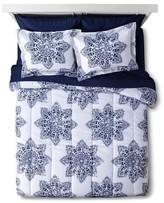 Nobrand No Brand Indigo Medallion Dorm in a Bag with Towel Set
